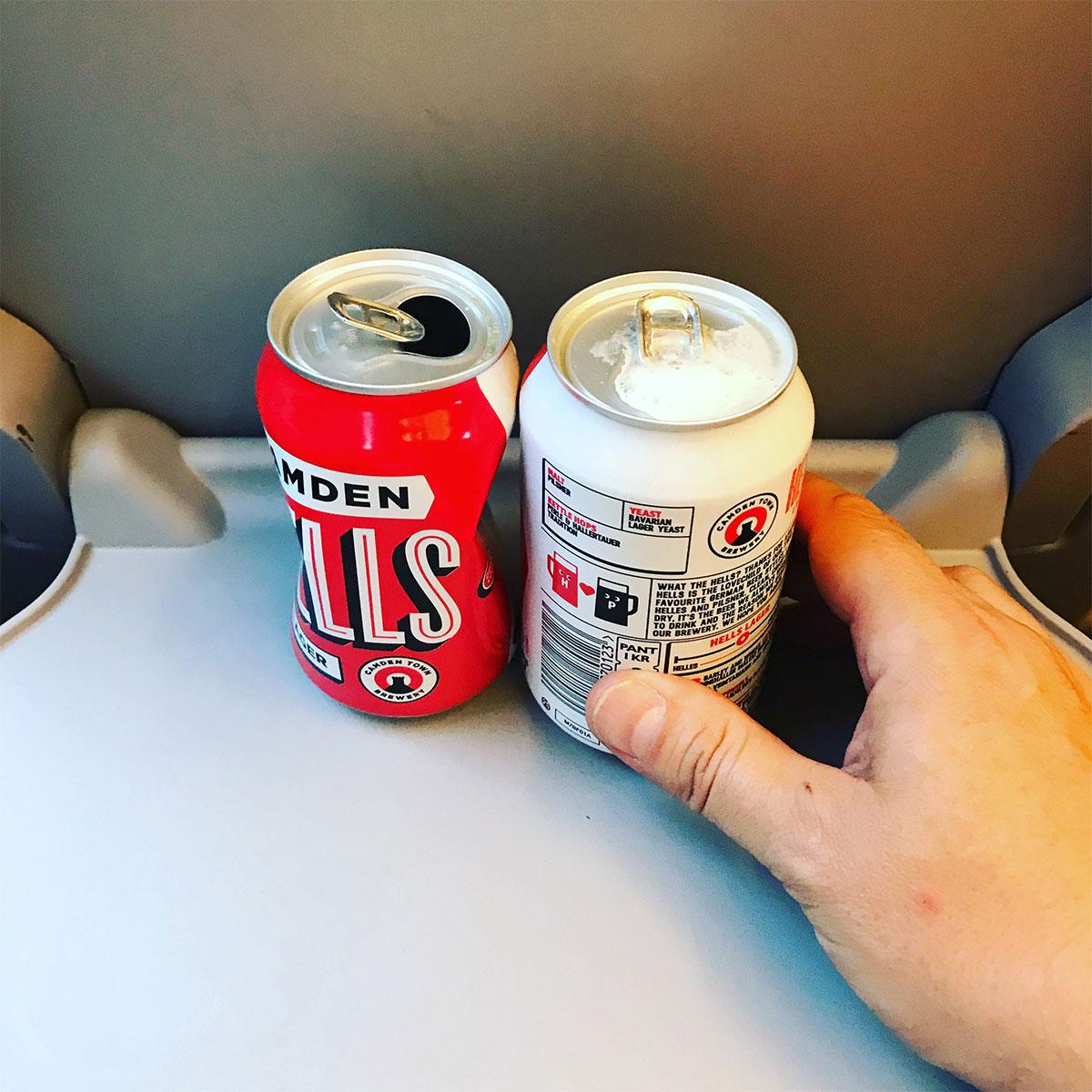 Train beers