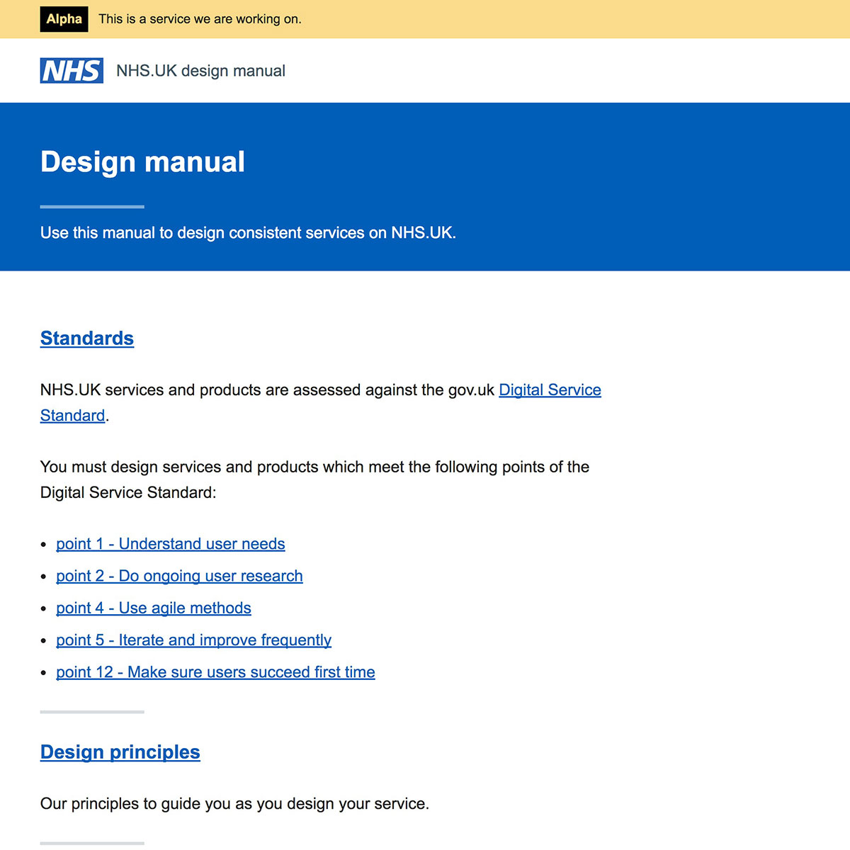The design manual